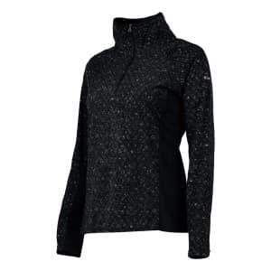 בגדי חורף קולומביה לנשים Columbia Glacial IV Print  Zip - שחור