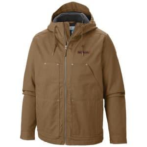 בגדי חורף קולומביה לגברים Columbia Loma Vista Hooded - חום בהיר