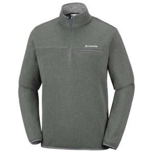 בגדי חורף קולומביה לגברים Columbia Terpin Point III Half Zip - ירוק