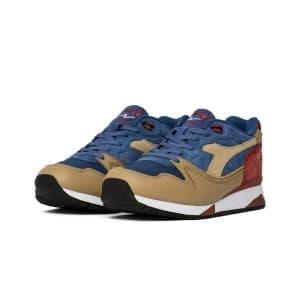 נעליים דיאדורה לגברים Diadora V7000 Premium - כחול/אדום