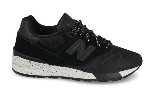 נעלי הליכה ניו באלאנס לגברים New Balance ML597 - שחור/אפור