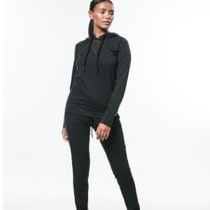 ביגוד לונקס לנשים Lynx sweats - שחור