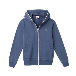 בגדי חורף לקוסט לגברים LACOSTE SH9067 - כחול