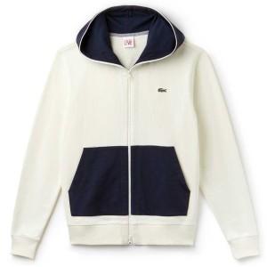 בגדי חורף לקוסט לגברים LACOSTE SH9067 - לבן