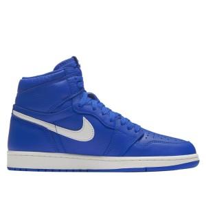נעליים נייק לגברים Nike Air Jordan 1 Retro High OG Hyper Royal - כחול