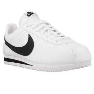 נעלי הליכה נייק לגברים Nike Classic Cortez Leather - לבן/שחור
