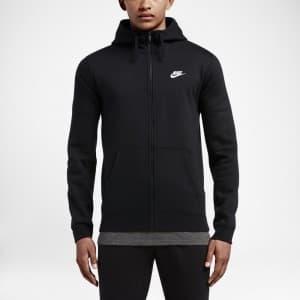 בגדי חורף נייק לגברים Nike Nsw Hoodie FZ Flc Club - שחור