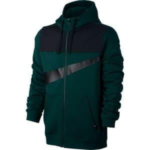 בגדי חורף נייק לגברים Nike Nsw Hoodie Fleece - שחור/ירוק