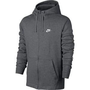 בגדי חורף נייק לגברים Nike Hoodie FZ - אפור