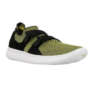 נעליים נייק לנשים Nike W Air Sockracer Flyknit - צהוב/שחור
