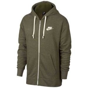 בגדי חורף נייק לגברים Nike Heritage Hoodie FZ - ירוק