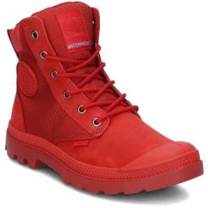 מגפיים פלדיום לנשים Palladium Pampa Sport Cuff - אדום