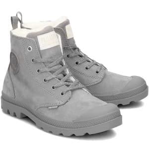 נעליים פלדיום לנשים Palladium Pampa HI Z WL - אפור