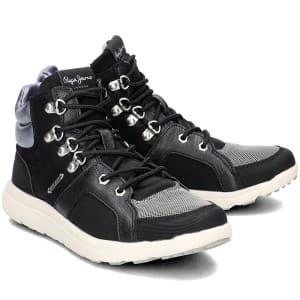 נעליים פפה ג'ינס לנשים Pepe Jeans Hyke Camu - שחור