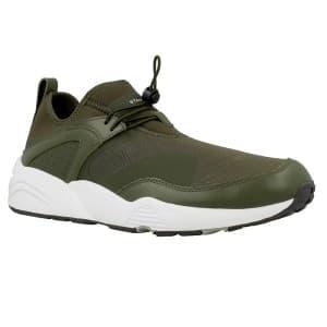 נעלי הליכה פומה לגברים PUMA Blaze OF Glory NU X Stam - ירוק כהה