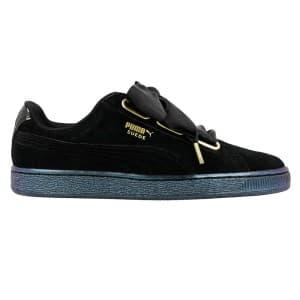 נעליים פומה לנשים PUMA Suede Heart Satin WN S P - שחור
