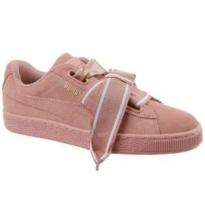 נעליים פומה לנשים PUMA Suede Heart Satin II W - ורוד