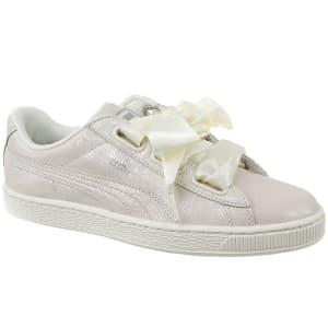 נעליים פומה לנשים PUMA Basket Heart Night Sky - בז'