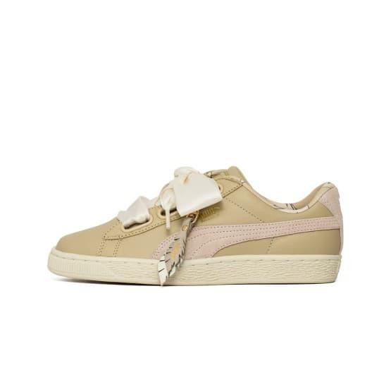 נעליים פומה לנשים PUMA Heart Coach - חאקי