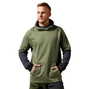 ביגוד ריבוק לגברים Reebok One Series Fleece - ירוק