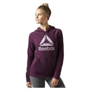 ביגוד ריבוק לנשים Reebok workout - סגול