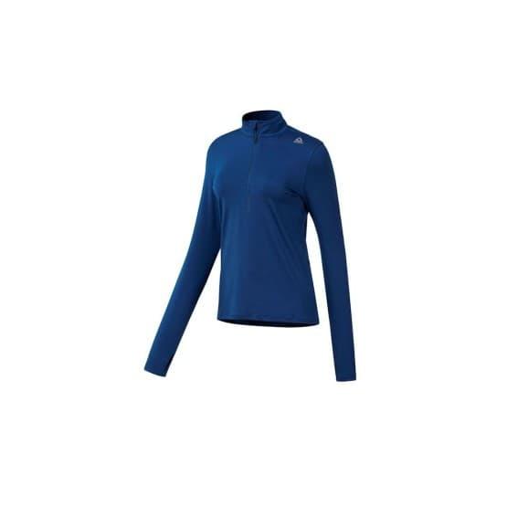 ביגוד ריבוק לנשים Reebok Run 14 Zip Top - כחול