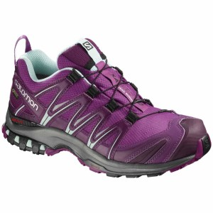 נעליים סלומון לנשים Salomon Xa Pro 3D Goretex - סגול