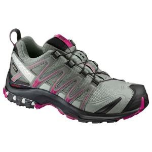 נעליים סלומון לנשים Salomon Xa Pro 3D Goretex - אפור