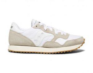נעלי סניקרס סאקוני לנשים Saucony DXN TRAINER VINTAGE - לבן
