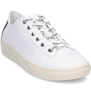 נעליים טומי הילפיגר לגברים Tommy Hilfiger Jeans Light - לבן