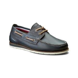 נעליים טומי הילפיגר לגברים Tommy Hilfiger Coast 1A Midnight - חום