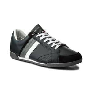 נעליים טומי הילפיגר לגברים Tommy Hilfiger Coprporate Midnight - אפור