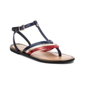 נעליים טומי הילפיגר לנשים Tommy Hilfiger Corporate - כחול/אדום