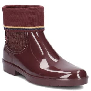 מגפיים טומי הילפיגר לנשים Tommy Hilfiger FW0FW03565296 - חום
