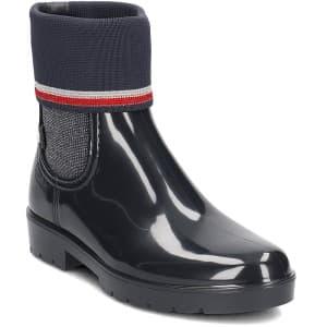 מגפיים טומי הילפיגר לנשים Tommy Hilfiger FW0FW03565403 - שחור