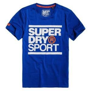 ביגוד סופרדרי לגברים Superdry Core Graphic - כחול כהה