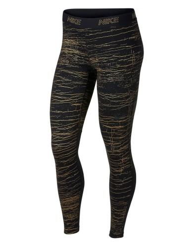 ביגוד נייק לנשים Nike ictory Metallic Crackle - שחור