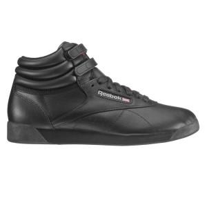 נעליים ריבוק לנשים Reebok Freestyle Hi - שחור