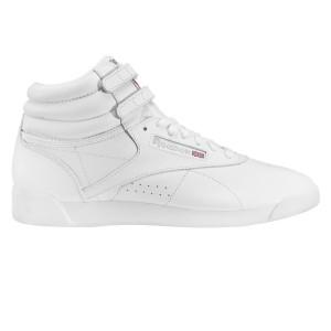 נעליים ריבוק לנשים Reebok Freestyle Hi - לבן