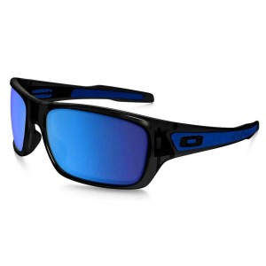 אביזרים Oakley לגברים Oakley Turbine Iridium - שחור/כחול