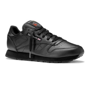 נעלי הליכה ריבוק לנשים Reebok Classic Leather - שחור