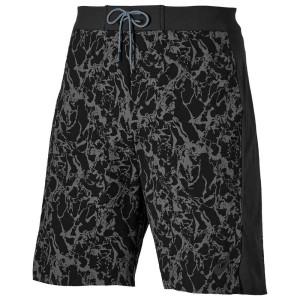 בגדי ים אסיקס לגברים Asics Board 10 Inch - שחור/אפור