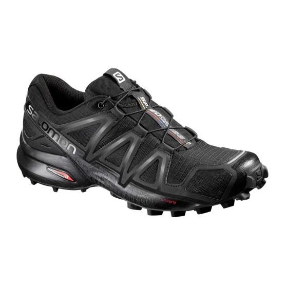 נעלי טיולים סלומון לנשים Salomon Speedcross 4 - שחור
