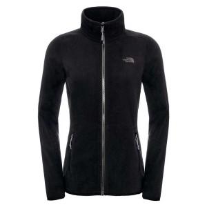 בגדי חורף דה נורת פיס לנשים The North Face 100 Glacier Full Zip - שחור
