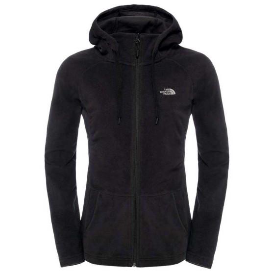 בגדי חורף דה נורת פיס לנשים The North Face Mezzaluna Full Zip Hoodie - שחור
