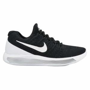 נעליים נייק לגברים Nike Lunarepic Low Flyknit 2 - שחור/לבן