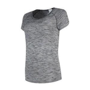 ביגוד נייק לנשים Nike Dri Fit Knit S/S Top - אפור