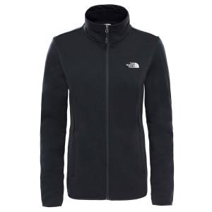 בגדי חורף דה נורת פיס לנשים The North Face Tanken Full Zip Jacket - שחור