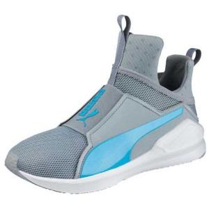 נעלי אימון פומה לנשים PUMA Fierce Core - אפור/טורקיז
