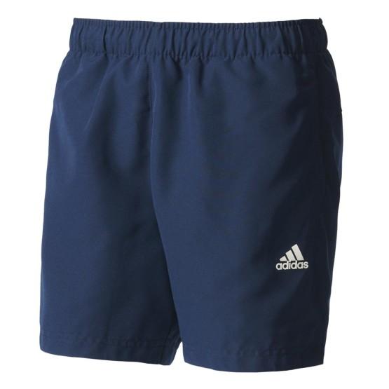 ביגוד אדידס לגברים Adidas Essentials Chelsea Short Pants - כחול כהה